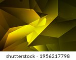 dark green  yellow vector... | Shutterstock .eps vector #1956217798