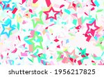 light green  red vector texture ... | Shutterstock .eps vector #1956217825