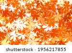 light orange vector doodle... | Shutterstock .eps vector #1956217855