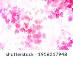light pink vector layout with... | Shutterstock .eps vector #1956217948
