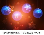 dark red vector layout in new... | Shutterstock .eps vector #1956217975