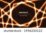 abstract lights pattern... | Shutterstock .eps vector #1956233122