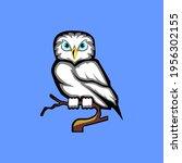 icon animlas owls vector eps 10. | Shutterstock .eps vector #1956302155