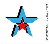 star design  star shape vector... | Shutterstock .eps vector #1956337495