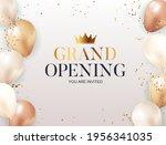 grand opening congratulation... | Shutterstock .eps vector #1956341035