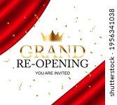 grand opening congratulation... | Shutterstock .eps vector #1956341038