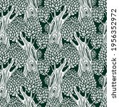 vector seamless pattern with... | Shutterstock .eps vector #1956352972