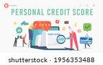personal good credit score... | Shutterstock .eps vector #1956353488