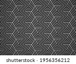 abstract geometric pattern with ... | Shutterstock .eps vector #1956356212