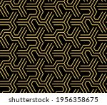 abstract geometric pattern with ... | Shutterstock .eps vector #1956358675