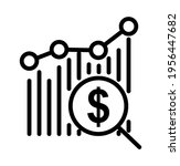 line icon analytical concept... | Shutterstock .eps vector #1956447682