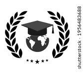 illustration of black student... | Shutterstock .eps vector #1956483688