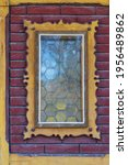 Old Decorated Window. There Is...