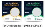 digital marketing social media... | Shutterstock .eps vector #1956542485