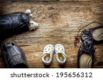 Small photo of Parent and child shoes - Squabble