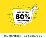 get extra 80 percent off sale....   Shutterstock .eps vector #1956567892