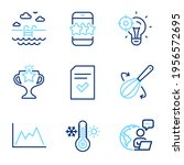 business icons set. included... | Shutterstock .eps vector #1956572695