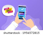 super sale banner. pay by...