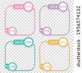 frame template and banner for... | Shutterstock .eps vector #1956574132
