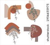 botanical garden vector set....   Shutterstock .eps vector #1956655975