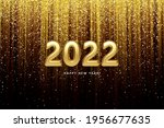 calendar header 2022 realistic...   Shutterstock .eps vector #1956677635