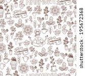 seamless harmony pattern | Shutterstock .eps vector #195672368