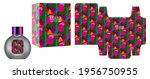 packaging design  label on... | Shutterstock .eps vector #1956750955