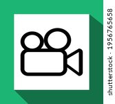 video icon  technology icon... | Shutterstock .eps vector #1956765658
