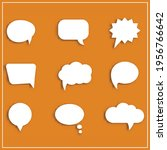speech bubbles. great vectors...