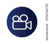 video icon  technology icon... | Shutterstock .eps vector #1956766732