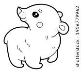vector illustration coloring... | Shutterstock .eps vector #1956779962