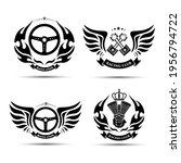 vintage auto club symbol vector ... | Shutterstock .eps vector #1956794722