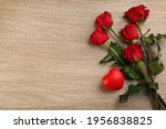 Beautiful Red Roses And...