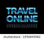 vector business emblem travel... | Shutterstock .eps vector #1956845482