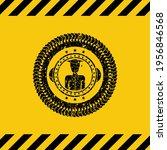 graduated icon grunge black... | Shutterstock .eps vector #1956846568