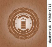battery icon inside retro style ... | Shutterstock .eps vector #1956846715