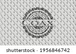 coax silver color badge or... | Shutterstock .eps vector #1956846742