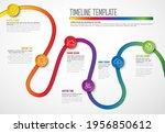 vector infographic company... | Shutterstock .eps vector #1956850612