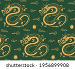 traditional chinese dragon... | Shutterstock .eps vector #1956899908