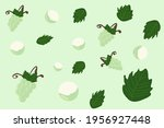 white grape background picture... | Shutterstock .eps vector #1956927448