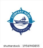 Logo Template For Boats Rental...