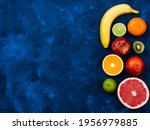 ingredients for the healthy... | Shutterstock . vector #1956979885