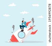 business start up failure  new... | Shutterstock .eps vector #1956992878