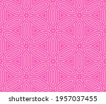 abstract fantasy striped thin... | Shutterstock .eps vector #1957037455
