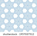 abstract fantasy striped thin... | Shutterstock .eps vector #1957037512