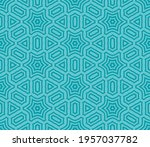 abstract fantasy striped thin... | Shutterstock .eps vector #1957037782