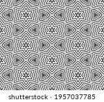 abstract fantasy striped thin... | Shutterstock .eps vector #1957037785