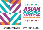 asian pacific american heritage ... | Shutterstock .eps vector #1957041688
