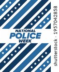 national police week in may.... | Shutterstock .eps vector #1957042858