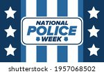 national police week in may.... | Shutterstock .eps vector #1957068502